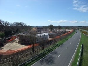 Housing development near Upton, Purbeck