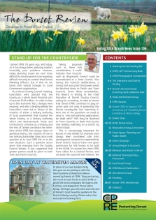 The Dorset Spring Review 2016