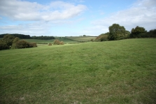 View looking north east across the proposed North Dorchester site