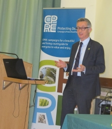 Crispin Truman at Dorset CPRE AGM 18th November 2017