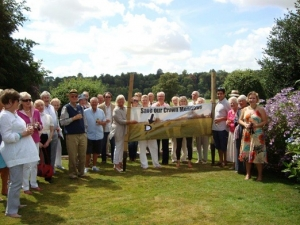 Campaign to save Crown Meadows in Blandford