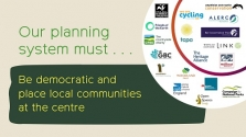 A joint vision for planning, 2021
